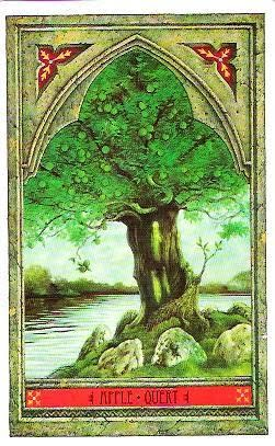 Green Man Oracle Apple 001