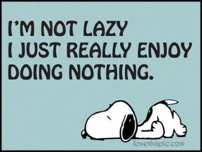 lazy-snoopy